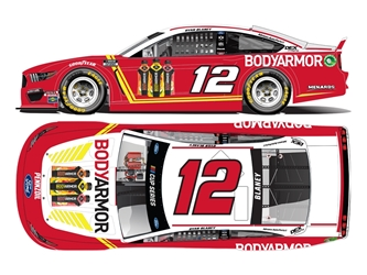 *Preorder* Ryan Blaney Autographed 2020 BODYARMOR All-Star 1:24 Nascar Diecast Ryan Blaney Nascar Diecast,2020 Nascar Diecast,1:24 Scale Diecast,pre order diecast, 2020 All-Star