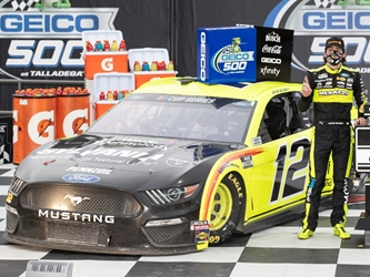 *Preorder* Ryan Blaney Autographed 2020 Menards / TruWave Technology by Sylvania Talladega Race Win 1:24 Nascar Diecast Ryan Blaney, Race Win, Nascar Diecast,2020 Nascar Diecast,1:24 Scale Diecast,pre order diecast