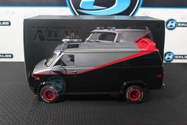 The A-Team (1983-87 TV Series) 1:12 - 1983 GMC Vandura Bespoke Collection The A-Team, TV Diecast, 1:12 Scale, 1983 GMC Vandura, Bespoke Collection