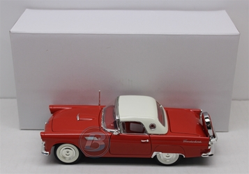 *Prototype* 1956 Ford Thunderbird 1:24 University of Racing Diecast Pre-Production 1956 Ford Thunderbird diecast, collectible diecasts, collectible diecast cars,historical racing die cast