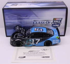 Richard Childress Autographed NASCAR Hall of Fame Class of 2017 1:24 Nascar Diecast NASCAR Hall of Fame diecast, 2016 nascar diecast, pre order diecast