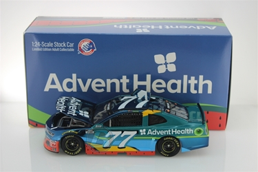 Ross Chastain 2020 AdventHealth 1:24 Color Chrome Nascar Diecast Ross Chastain, Nascar Diecast,2020 Nascar Diecast,1:24 Scale Diecast, pre order diecast