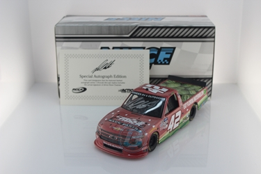 Ross Chastain Autographed 2020 Circle Track Warehouse / Florida Watermelon Association 1:24 Flashcoat Color Nascar Diecast Ross Chastain diecast, 2020 nascar diecast, pre order diecast