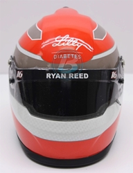 Ryan Reed 2017 Lilly Diabetes MINI Replica Helmet Ryan Reed nascar diecast, diecast collectibles, nascar collectibles, nascar apparel, diecast cars, die-cast, racing collectibles, nascar die cast, lionel nascar, lionel diecast, action diecast, university of racing diecast, nhra diecast, nhra die cast, racing collectibles, historical diecast, nascar hat, nascar jacket, nascar shirt