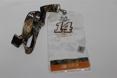 Tony Stewart #14 Camo RealTree/ NASCAR Orange Credential Holder and Lanyard Tony Stewart nascar diecast, diecast collectibles, nascar collectibles, nascar apparel, diecast cars, die-cast, racing collectibles, nascar die cast, lionel nascar, lionel diecast, action diecast, university of racing diecast, nhra diecast, nhra die cast, racing collectibles, historical diecast, nascar hat, nascar jacket, nascar shirt, R and R