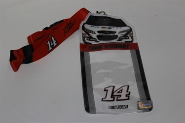 Tony Stewart #14 Car Top Credential Holder and Lanyard Tony Stewart nascar diecast, diecast collectibles, nascar collectibles, nascar apparel, diecast cars, die-cast, racing collectibles, nascar die cast, lionel nascar, lionel diecast, action diecast, university of racing diecast, nhra diecast, nhra die cast, racing collectibles, historical diecast, nascar hat, nascar jacket, nascar shirt, R and R