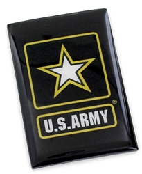 "US ARMY 2"" X 3"" MAGNET US Army, military, Magnet"